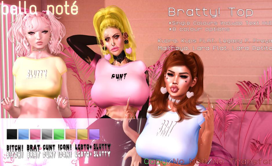 Bella Note - Bratty