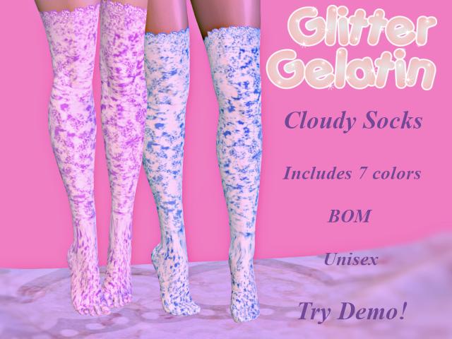 G-G - Cloudy Sock