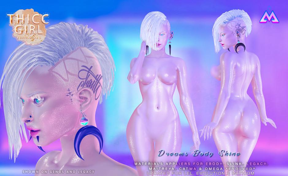 BLAXIUM - Dreams Body Shine