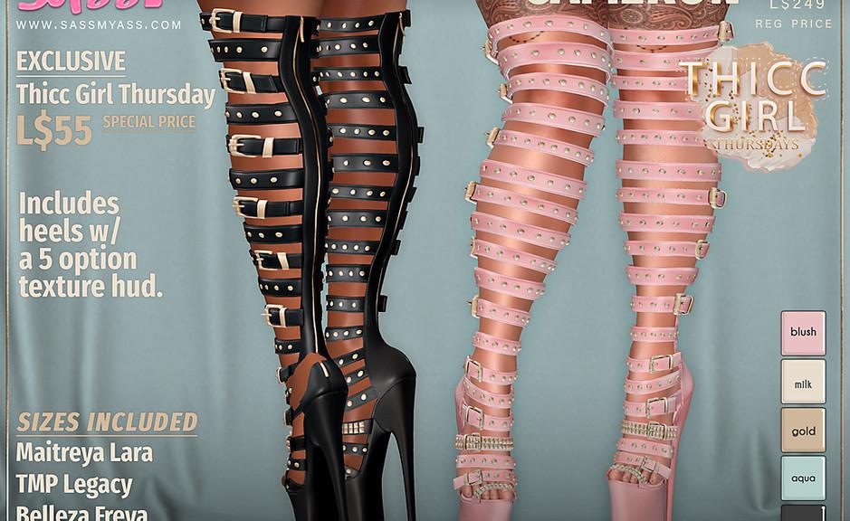 sass - cameron heels