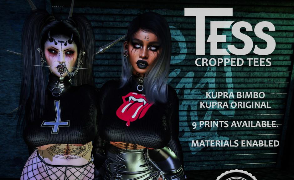 MODA - TESS CROPPED TEES