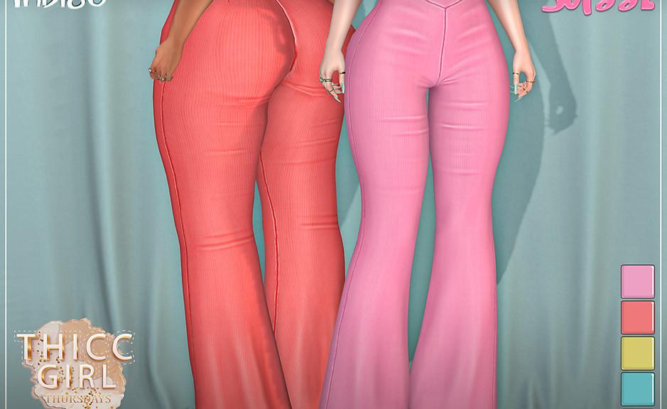 Sass - Indigo Pants