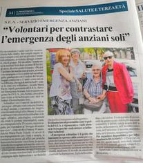 Un articolo della Stampa
