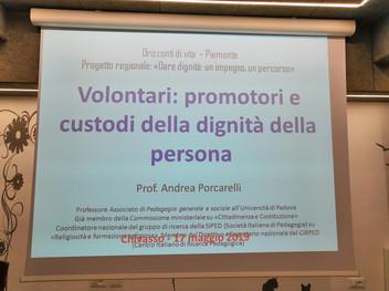 Volontari: Promotori e Custodi della Dignità della Persona