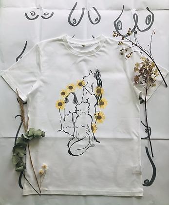 flower power tee