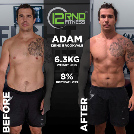 Adam Before & After