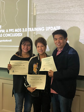 MDS/RAI Advisor PDPM Training attendees 2019.jpg