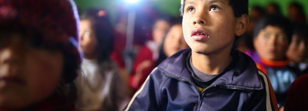 Cine en Chimborazo.