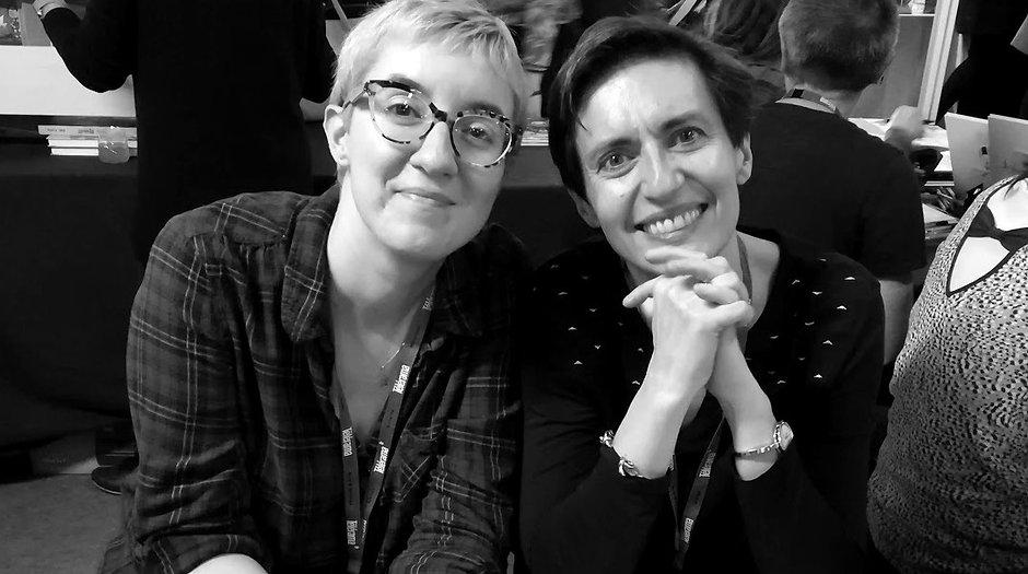 Ingrid Chabbert et Anne Loyer