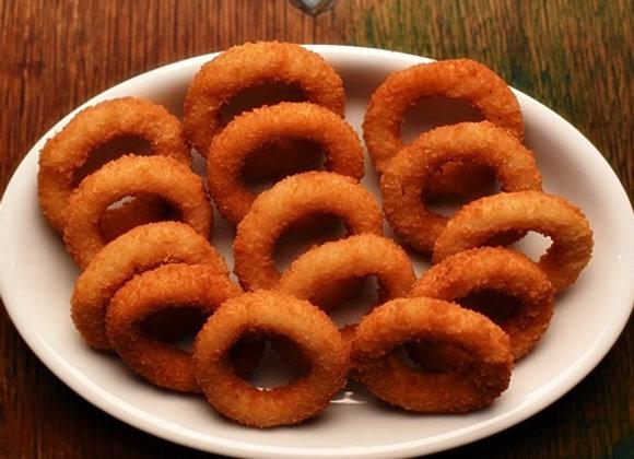 Porção de Onion Rings (Anéis de cebola)