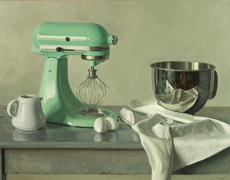 Painter's Progress, Oil on linen