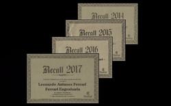 Recall LAF 2014 a 2017
