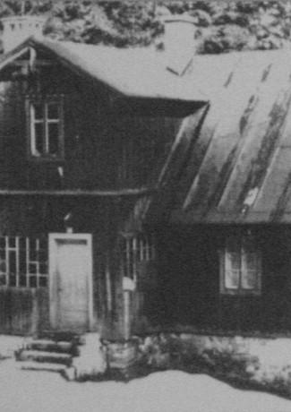 Původní hájenka z 60 let