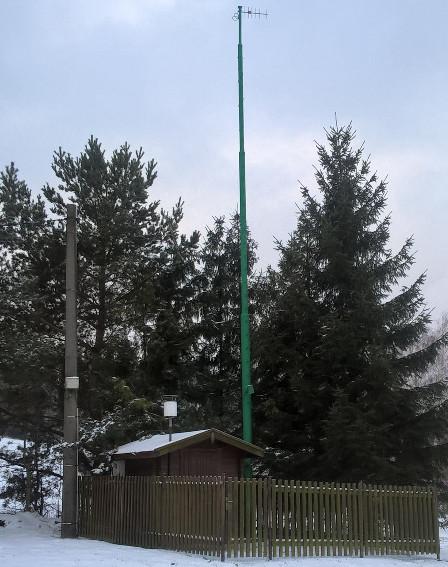 Automatická stanice v části obce Nýdek (Odmiarek)