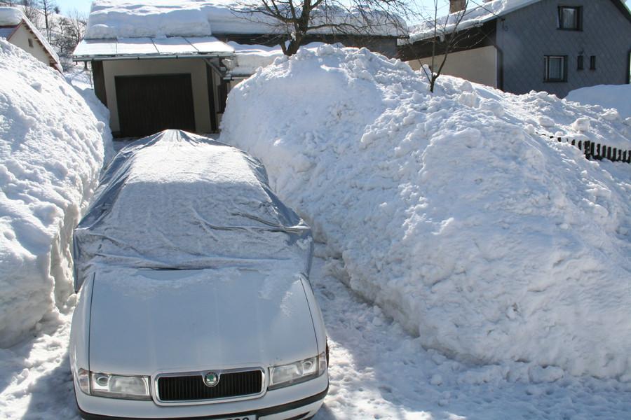 Sněhová pokrývka 2005/2006