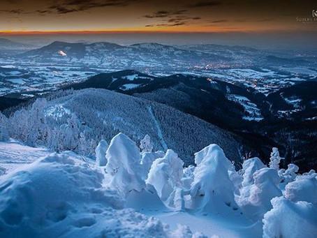 Studená fronta přinese pár centimetrů nového sněhu