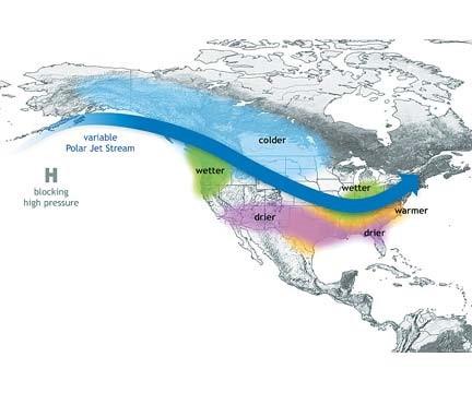 Obr. 10 Situace v Severní Americe