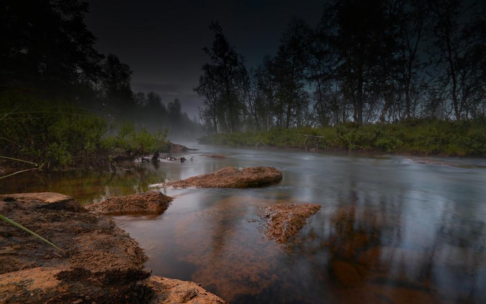 Lemmenjoki National Park I North Finland