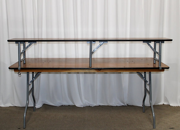 Two Tier Bar Table w/linen