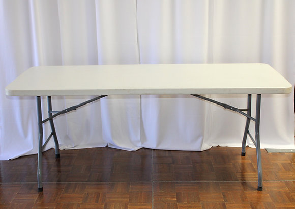 Banquet Table 6'