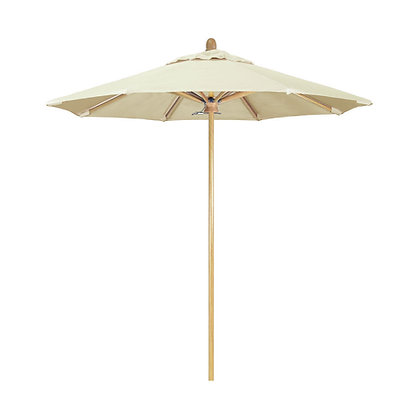 Off-White Patio Umbrella
