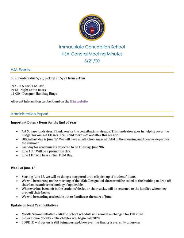 ICS HSA General Meeting Minutes_052120_P