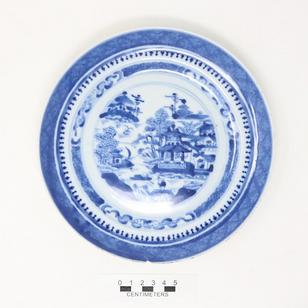 Porcelain Plate - 2004.9.060
