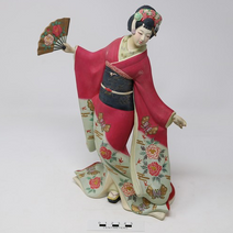 Ceramic Geisha Figure - 2004.9.476