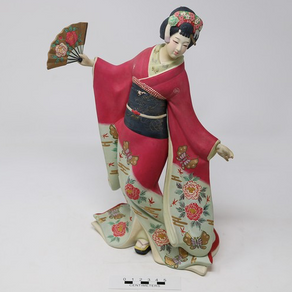 Ceramic Geisha Figure [2004.9.476]