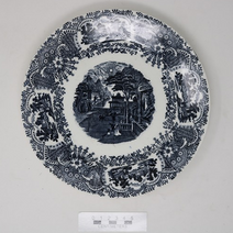 Ceramic Plate - 2004.9.407