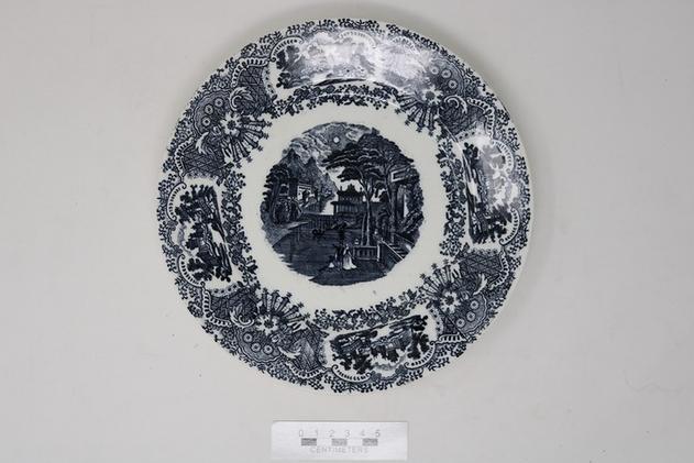 Ceramic Plate [2004.9.407]