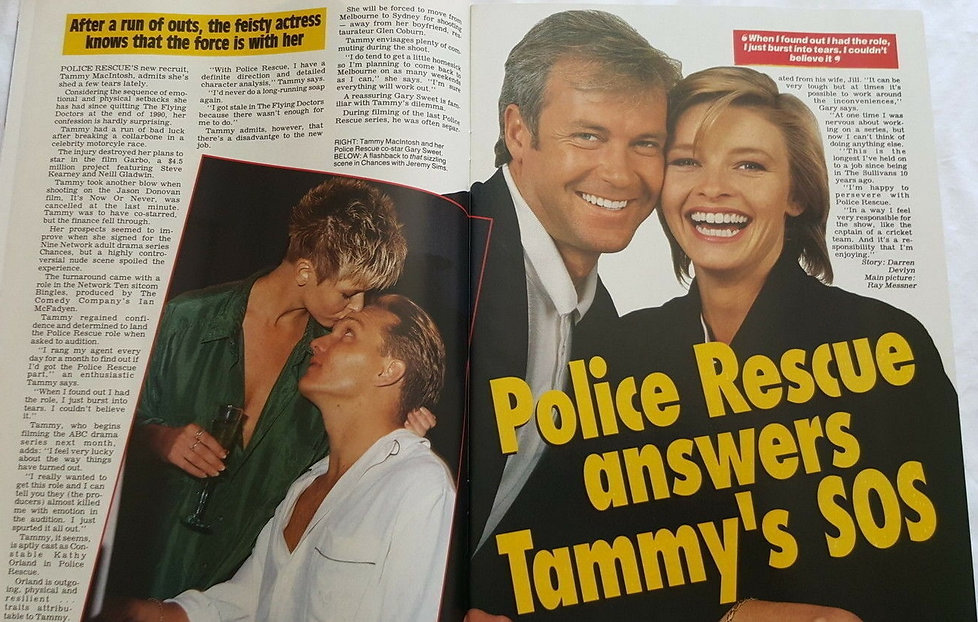 jan 25 1992 police rescue answers tammy