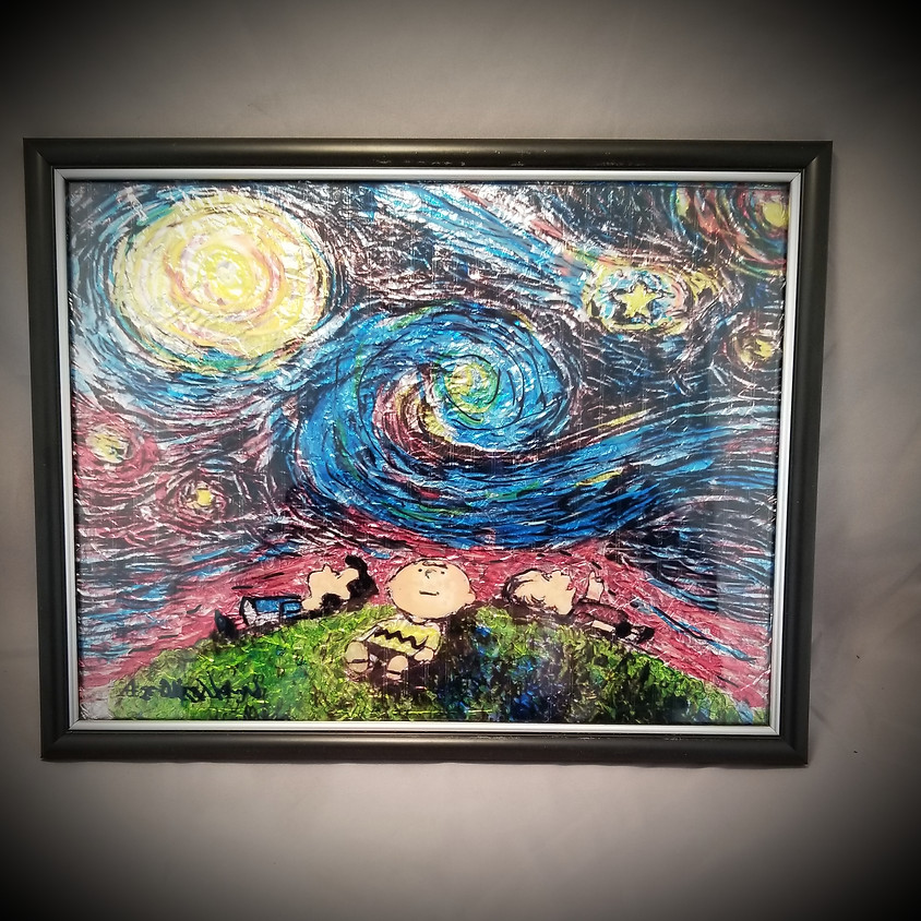 Snoopy Framed Art