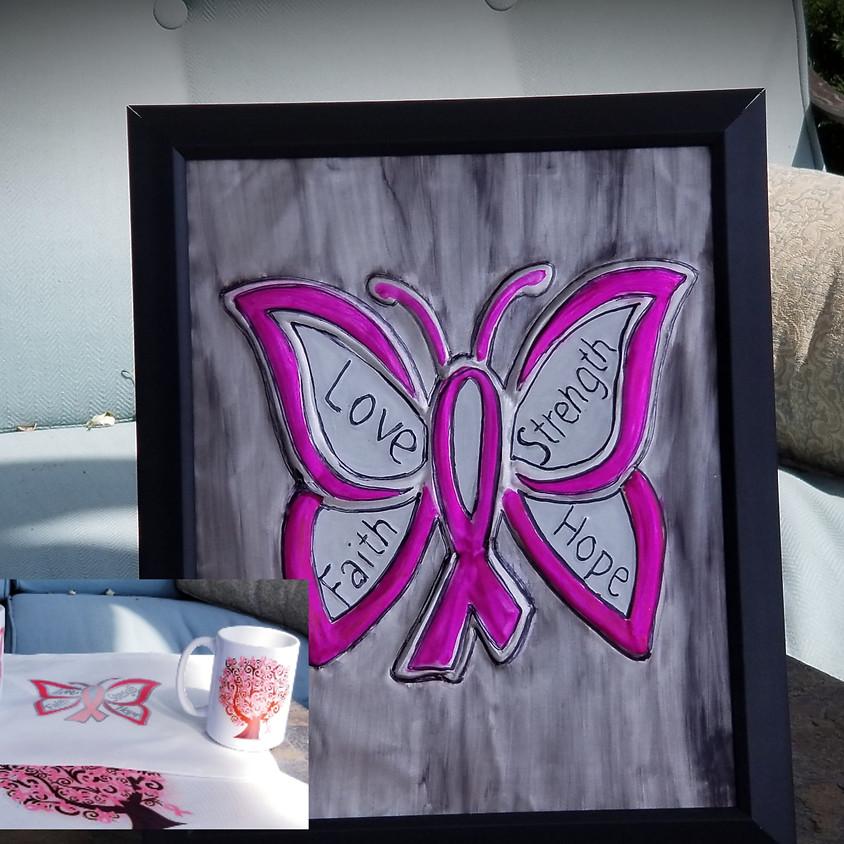Breast Cancer Awareness - Metal Art