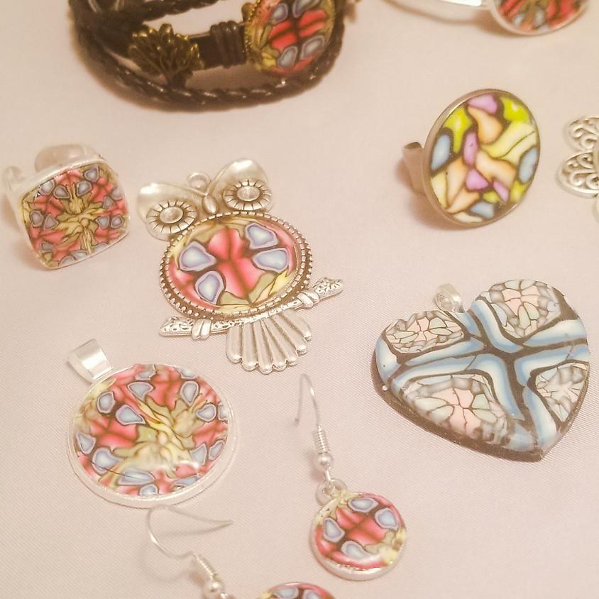 *NEW* Polymer Clay Kaleidoscope Jewelry