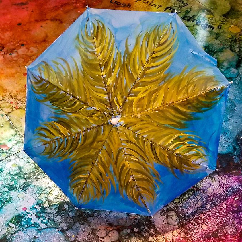 *NEW* Blue Sky Palm Umbrella