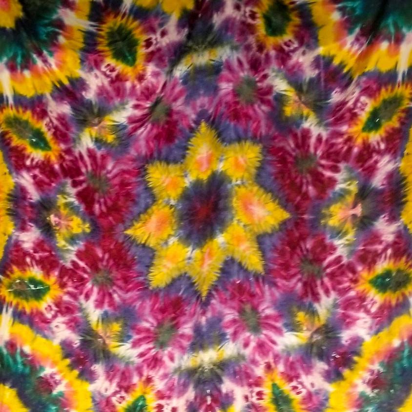 *NEW* Silk Tie Dye Mandalas