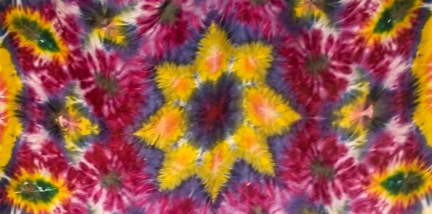 Tie Dye Mandala