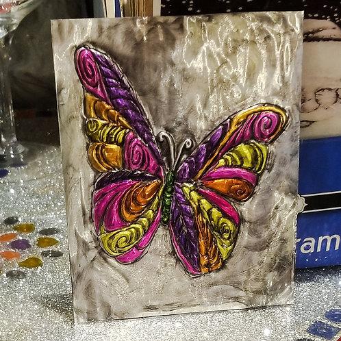 Embossed Metal - Butterfly