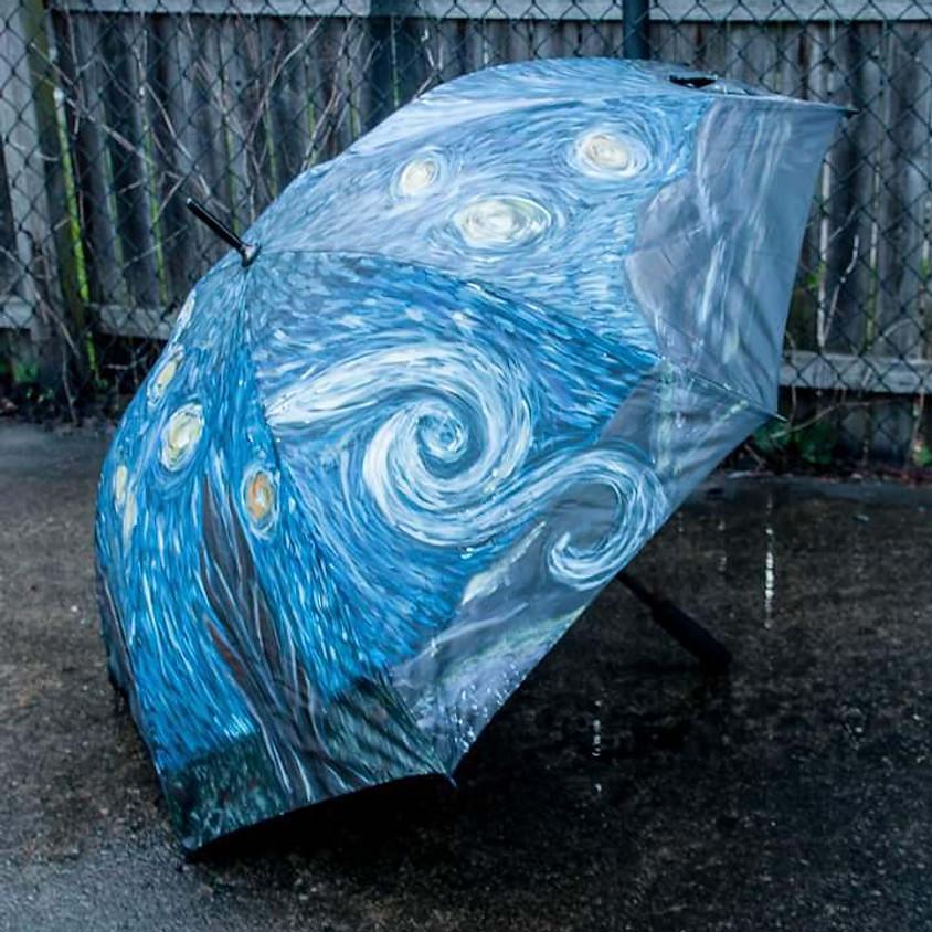 Starry Night Umbrella - $40