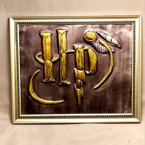 Embossed Metal - Harry Potter (HP)