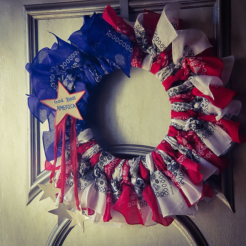 Americana Wreath - SOLD OUT