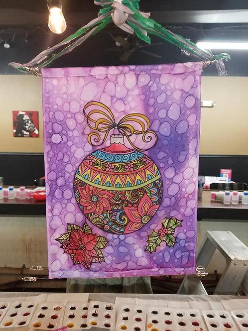 Silk Wall Hanging - Ornament