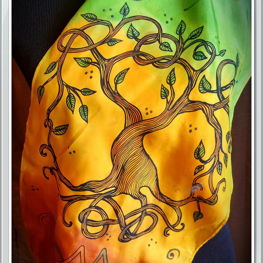 *SALE* Tree of Life Scarf