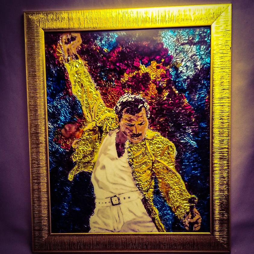 *NEW* Freddie Mercury - Alcohol Ink