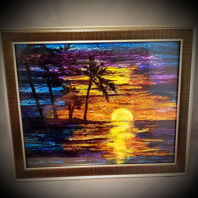 Tropical Nights Framed Art