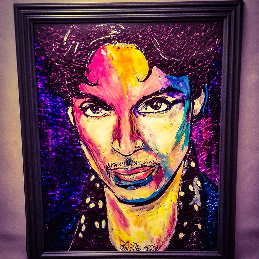 *NEW* Prince - Alcohol Ink
