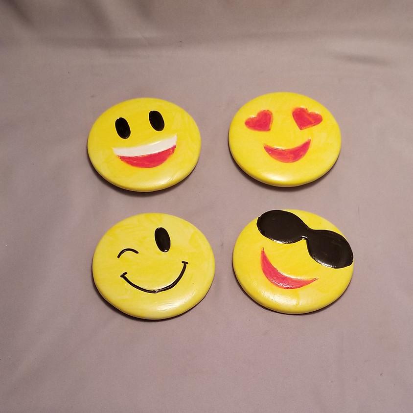 *Kids Welcome* Emoji Magnet