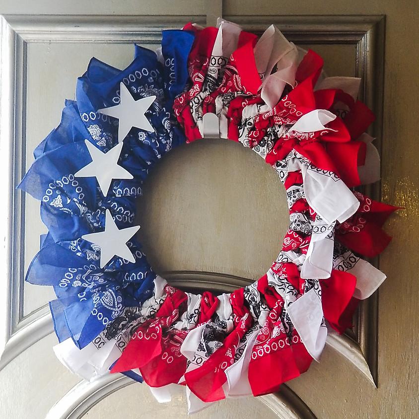 Americana Wreath @ Kelly's Bar