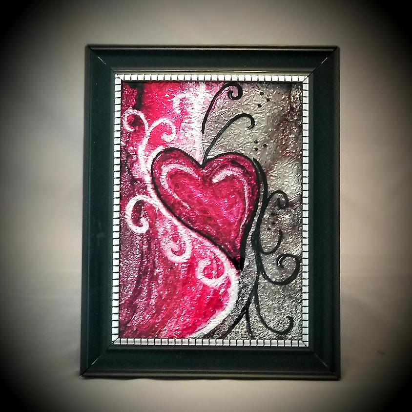 Inspire Your Heart - Alcohol Ink